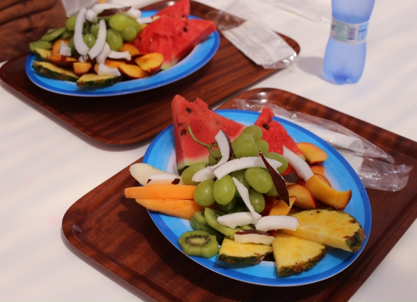 Piatto di frutta Teranga Bay